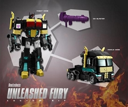 Beelzeboss BLZ-08U Unleashed Fury Custom Kit