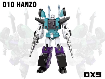 DX9Toys D10 HANZO