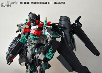 Fans Want It FWI-04B BLACK JETWING UPGRADE KIT