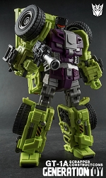 Generation Toy Gravity Builder GT-01A SCRAPPER