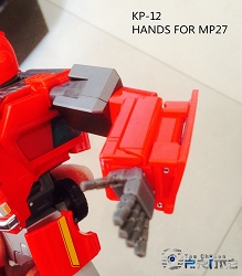 KFC Toys KP-12 Articulated Hands for MP-27 Ironhide