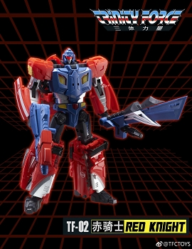 TFC Toys Trinity Force TF-02 RED KNIGHT