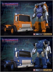 Xtransbots - KRANK AND STAX (Set of 2)