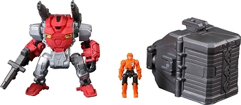 Takara Diaclone Reboot - POWERED SUIT Set A