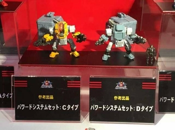 Takara Diaclone Reboot - POWERED SUIT Set C & D
