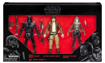 Star Wars 2016 The Black Series Rogue One REBELS VS IMPERIALS 3-pack