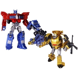 Takara Tomy Generations - Legends Class OPTIMUS PRIME & BUMBLEBEE 2 Pack